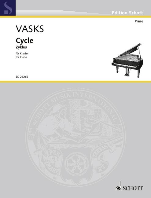 Cycle Vasks, Peteris Piano 9790001180153 Elegante Verschijning